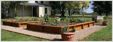 rural property raised vegetable garden speciality features higher ground landscapes hamilton