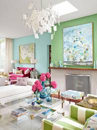 Blue And Green Decor Inside Sarah Richardsons Colorful Home Hgtv