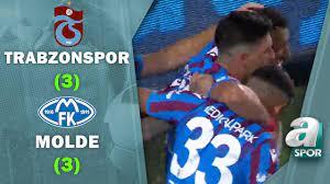 Trabzonspor 3-3 Molde MAÇ ÖZETİ (UEFA Konferans Ligi 3. Ön Eleme Turu) /  05.08.2021 - YouTube