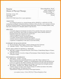 Spa Therapist Resume Sample Unique Occupational Therapy Resume
