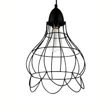 industrial copper wire cage pendant lamp b pendant light cux