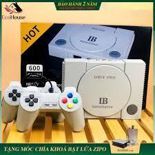 Máy chơi game 4 nút gameStation IB tích hợp 600 games, phiên bản AV, bảo  hành 2 năm, lỗi đổi mới trong 7 ngày đầu - Phụ kiện Gaming Nhãn hiệu No  Brand