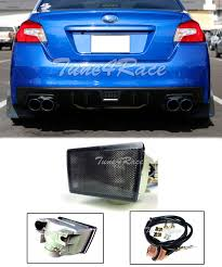Jdm Rear Fog Light Details About For 11 17 Impreza Wrx Sti Jdm Rear Smoke Fog Lights Brake Lamp 13 15 Xv Crosstek