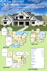 pergola 6 bedroom farmhouse. architectural designs craftsman house plan 290008iy gives you 6 bedrooms spread across 3 levels of living pergola bedroom farmhouse