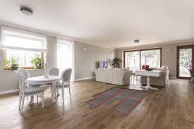 Wood Floor Underfloor Heating Kitchen