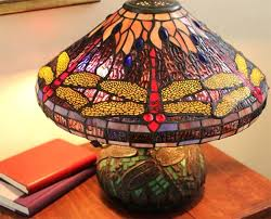 small tiffany style lamp dragonfly style table lamp short stained glass small tiffany style dragonfly lamp