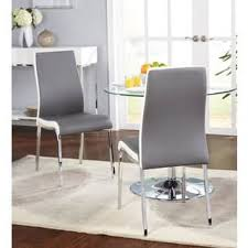 grey dining room chairs. simple living nora dining chairs (set of 2) grey room