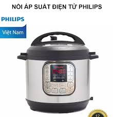 Nồi Áp Suất Điện Từ Philipss (6L) LG06A - Hàng Phân Phối Chính Hãng - Lòng  nồi gang tráng chống dính cao cấp - 10 Chế độ nấu tự động - Công