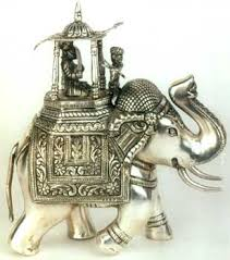 silver decorative elephant sterling silver articles silverware gifts silver crafts decorative silver