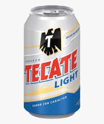 Tecate Vs Tecate Light Transparent Tecate Png Cerveza De La Tecate Light Png