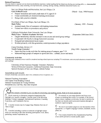 Gallery Of Example Of A Teacher Resume