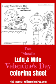 Free Printable Valentine S Coloring Page