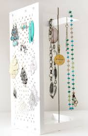 diy jewelry storage with an ikea variera shelf easy and storage and organization