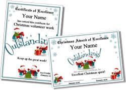 Printable Christmas Certificates Printable Christmas Certificates 67