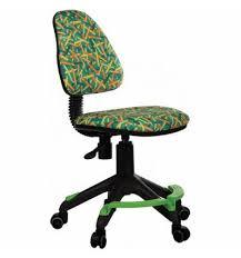 Кресло <b>Бюрократ KD</b>-<b>4</b>-<b>F</b>/<b>PENCIL</b>-<b>GN</b> детское, цвет <b>зеленый</b>...