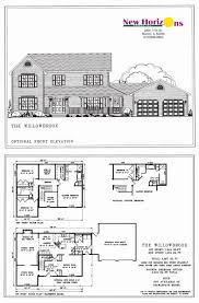 plan section and elevation of houses pdf luxury home plan elevation kerala house design idea building