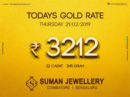 Todays Gold_rate At Suman Jewellery Stay Updated With Us