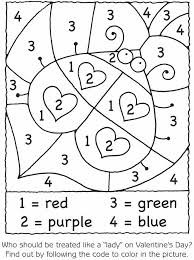 Small Picture Color By Number Coloring Pages For Kindergarten Color By Number