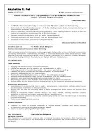 Example Of Business Resume resume Financial Analyst Resume Example 41