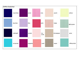 Impression Bridal Color Chart 50 Uncommon Color Chart Dressing