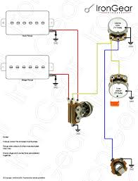 guitar wiring diagrams 1 pickup guitar discover your wiring irongear pickups wiring