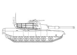 Kleurplaat Abrams Tank Afb 10142 Images