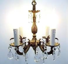 antique chandelier made in spain brass crystal chandelier antique made in vintage crystal chandelier made in