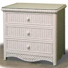 Kona Rattan Bedroom Suite from Schober pany 4774 White Wicker