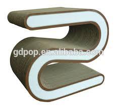 cardboard tube furniture. Tube Flexible Cardboard Furniture Chair
