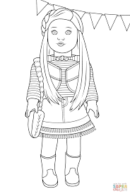 Small Picture Coloring Page American Girl Coloring Pages Coloring Page and