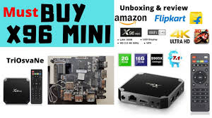 must buy Android TV Box - X96 Mini 4K - Under $29 TriOsvaNe 2019 - YouTube