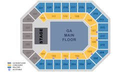 James L Knight Center Interactive Seating Chart Iwireless Seating Chart