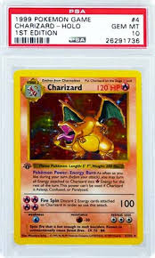 1st edition shadowless charizard pokemon 1st base set