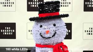 Holiday Time Light Up Led Fluffy Snowman Instructions 202779 Pop Up Outdoor Snowman