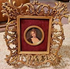 br miniature picture frame