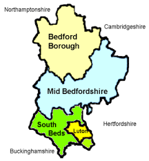 local information bedfordshire and luton map Bedfordshire On Map beds and luton map bedfordshire on sunday newspaper