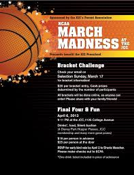 March Madness Flyer Newsletter Template