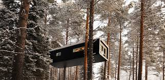 invisible tree house hotel. Did You Ever Have (or Really Want) A Tree House When Were Child? If So, Then Might Be Interested In New Accommodations Available Sweden. Invisible Hotel
