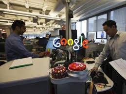 google office photos 13 google. A Neon Google Logo Is Seen As Employees Work At The New Office In Toronto Photos 13
