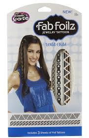 Foilz Hair Design Amazon Com Shimmer And Sparkle Fab Foilz Body Art Toys Games