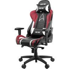 Компьютерное <b>кресло Arozzi Gaming Chair</b> Star Trek Edition Red ...