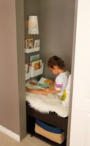 simple closet ideas for kids. Create A Reading Nook, In Closet, For Kids With Little Easy Construction Simple Closet Ideas T
