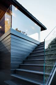 glass deck railing systems gl kit interior cost tempered exterior stair per linear foot