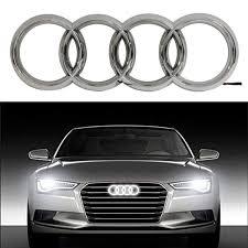 Audi A4 Front Lights Bearfire Cool Led Emblem Logo Grid Led Badge Front Light For