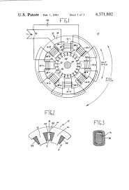 Large size patent us4371802 half pitch capacitor induction motor drawing dc motor driver