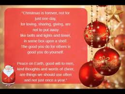 short christmas poems you
