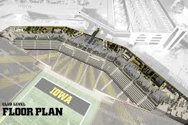 Kinnick Stadium North End Zone Neumann Monson Architects
