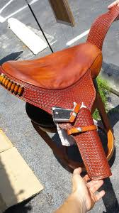 photo of longhorn leather mancos co united states custom motorcycle seat and