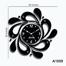 Small Picture Wall Clock Rnd Time Infinite Wall Clock 2 Oz Design Wall Clocks