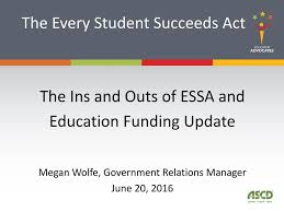 Essa And Nclb Comparison Chart The Every Student Succeeds Act Ppt Download